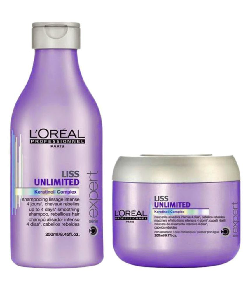 Loreal Professional Liss Unlimited Shampoo Conditioner 230 Ml