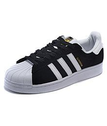 adidas casual shoes black