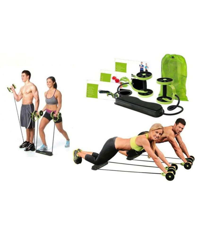 Bustbuy Complete Gym Exercise Kit Revoflex Home Gym