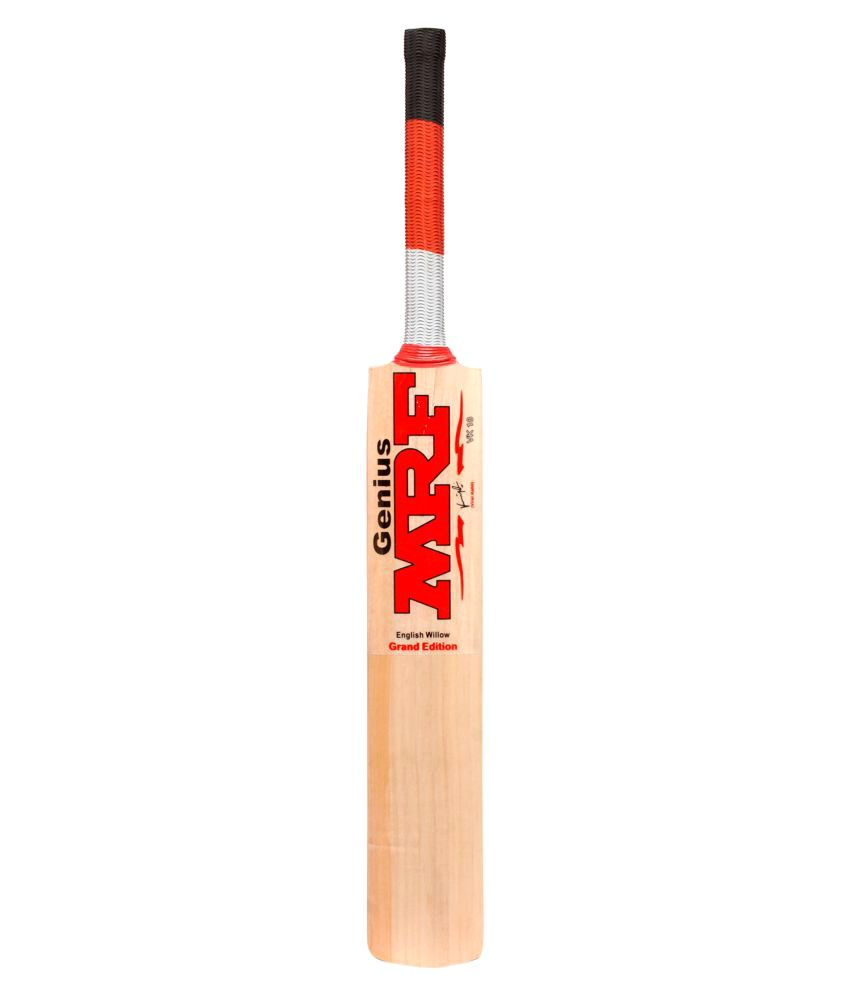 399b4bb73 Mrf Grand Edition (Virat Kohli Endorsed) English Willow Cricket Bat  Buy  Online at Best Price on Snapdeal
