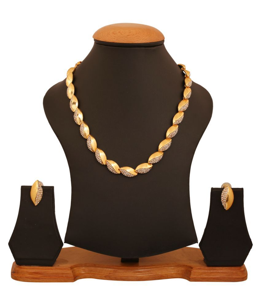 Touchstone Marquise Sequence AD Necklace Set