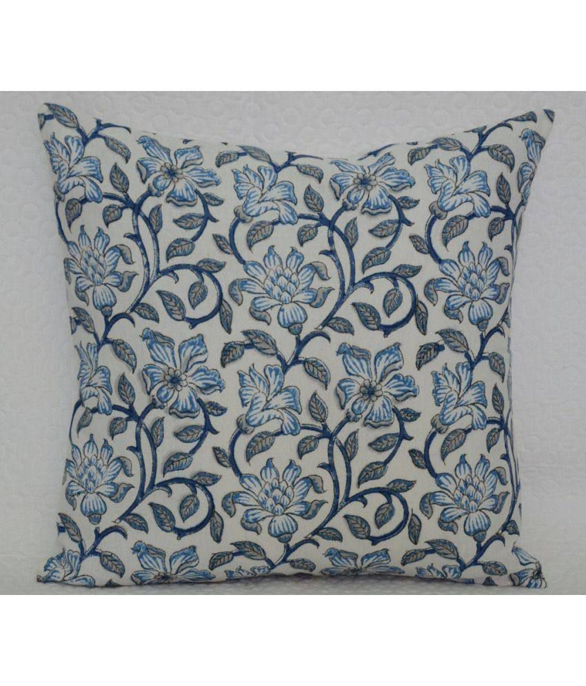 Jewel Fab Art Single Cotton Cushion Covers 40X40 cm (16X16)