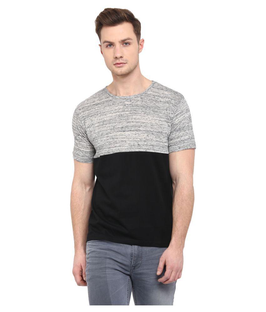 Upbeat Multi Round T-Shirt