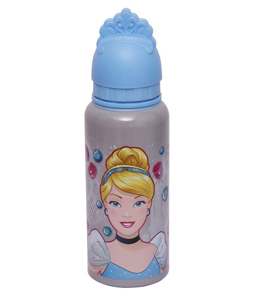 Disney Cinderella Priencess Cartoon Arts Water Sipper Bottle Water