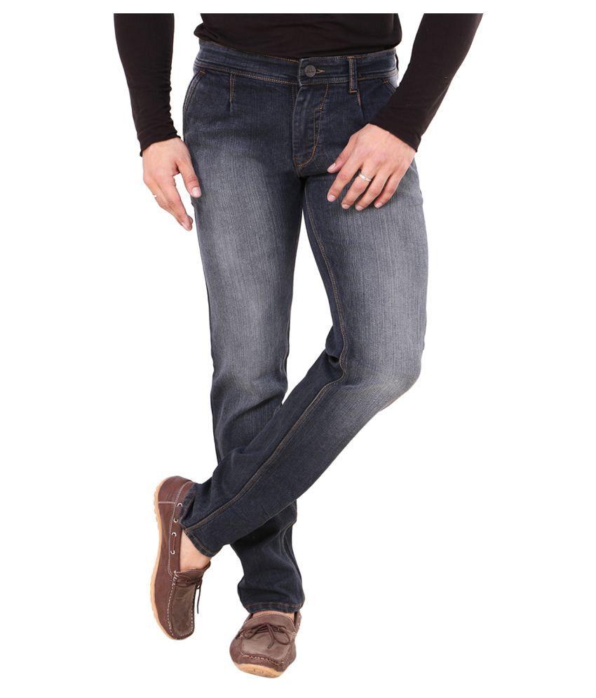 Pop Cherry Black Straight Jeans