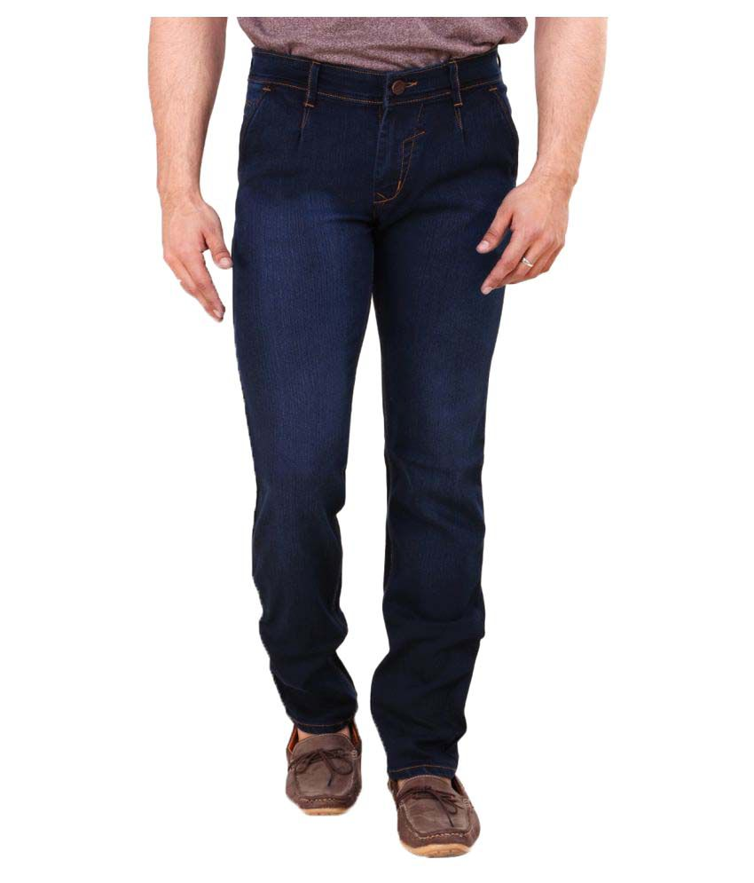 Pop Cherry Blue Regular Fit Jeans