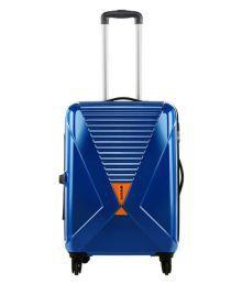 Safari Blue L(above 70cm) Check-in Hard Luggage