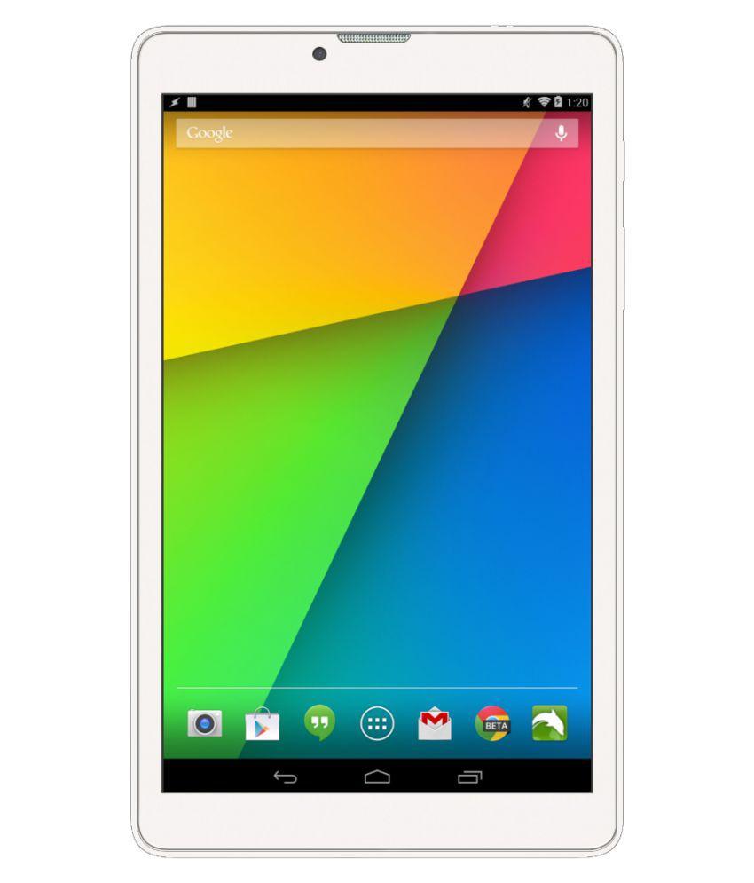 Izotron Mipad 07 White ( 3G + Wifi , Voice calling ) Snapdeal Rs. 4290.00