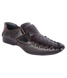 Aadi Brown Sandals