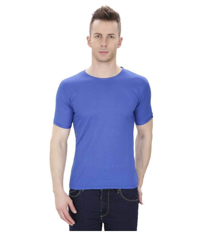 Nkmart Blue Round T-Shirt