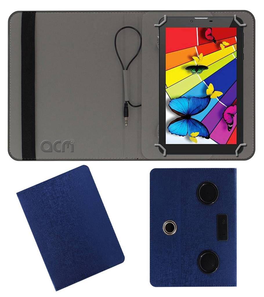 IntexI-Buddy In-7dd01 Flip Cover By ACM Blue