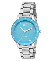 Ziera ZR8040 Special dezined Blue Dial Analog Watch - For Girls