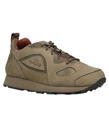 Woodland G 777WS-KHAKI Outdoor Khaki Casual Shoes