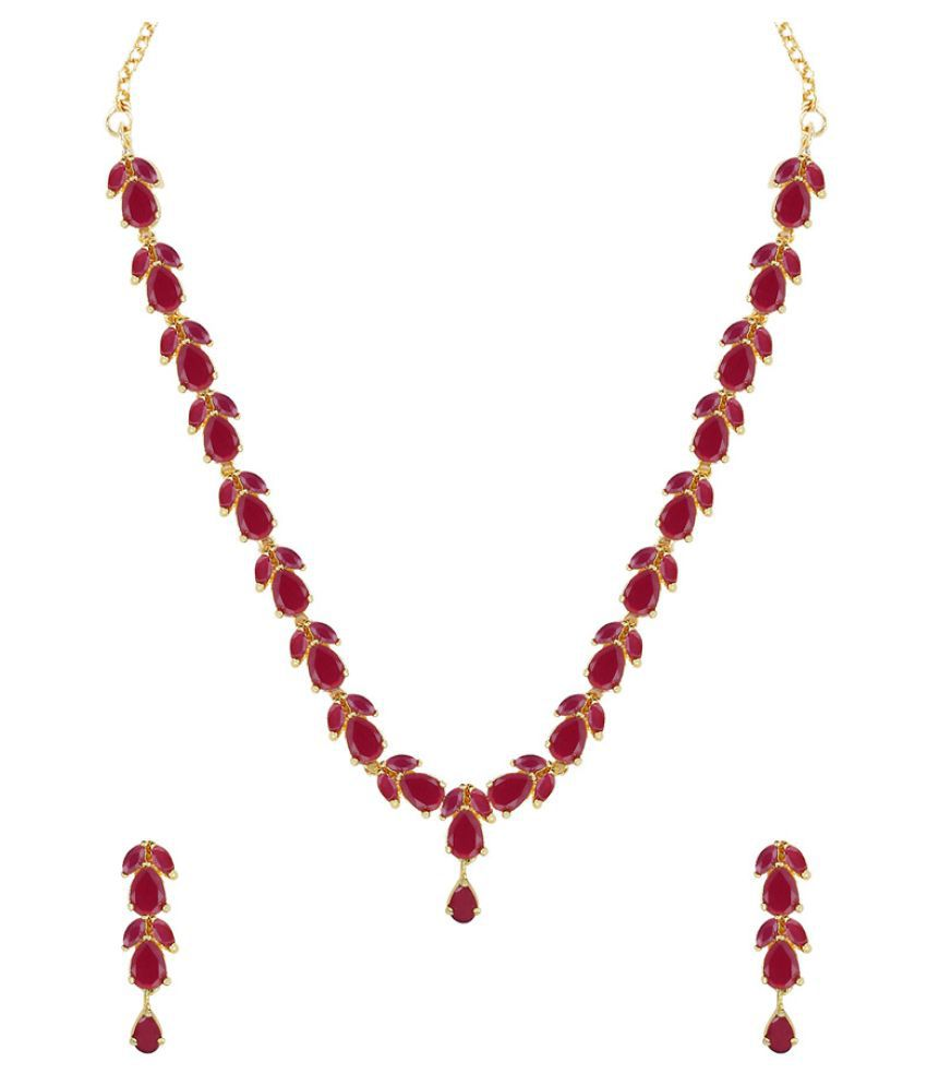 listing ruby fullxfull july gold tiny il beaded natural gemstone necklace birthstone