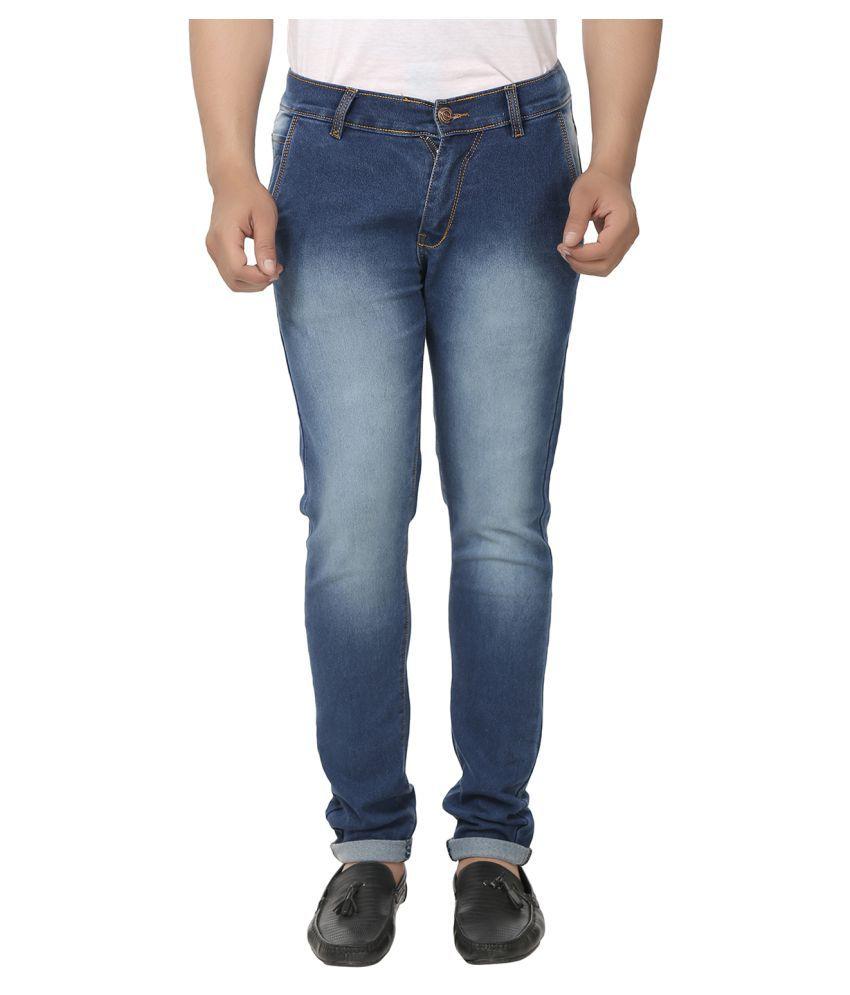 Kalpatru Blue Regular Fit Jeans