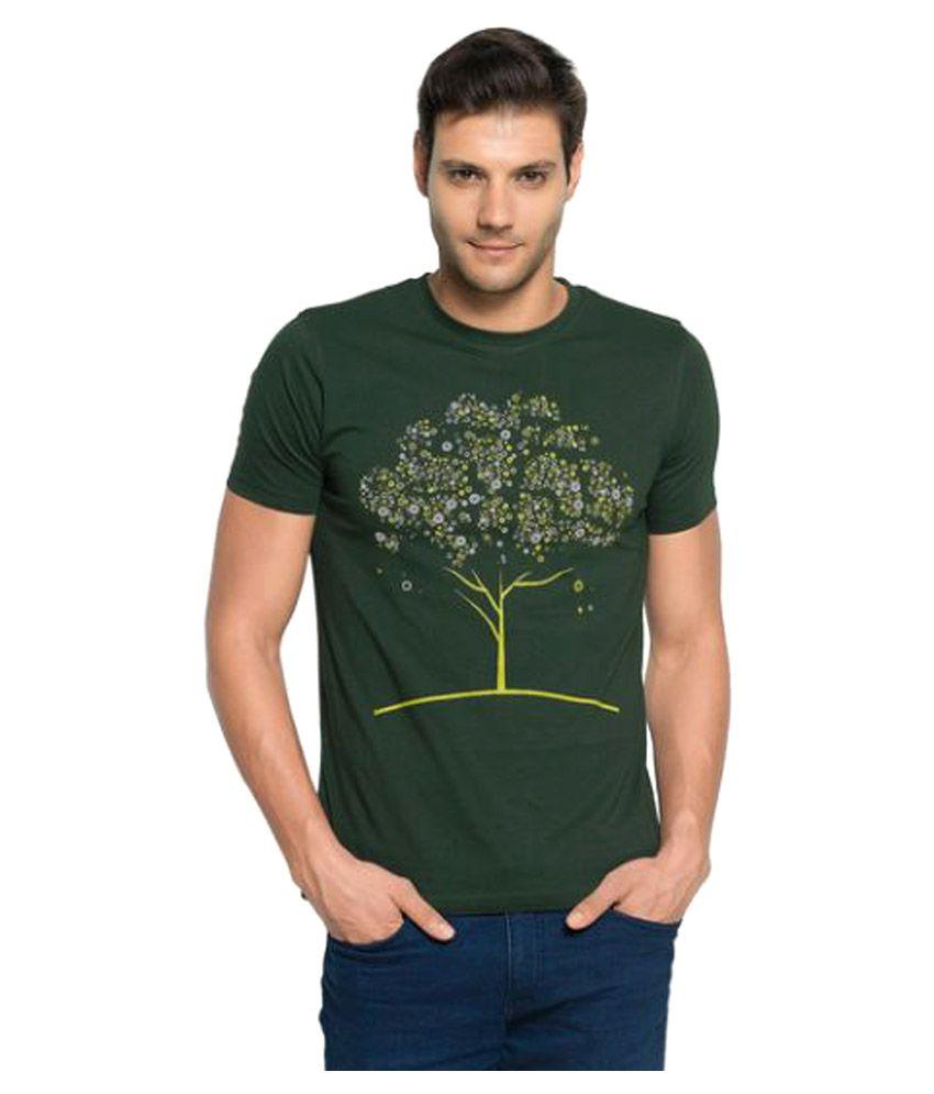 Zorchee Green Round T-Shirt