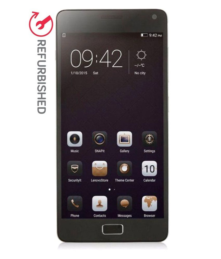 REFURBISHED Lenovo Vibe P1 A42 32GB Silver With Turbo Charger