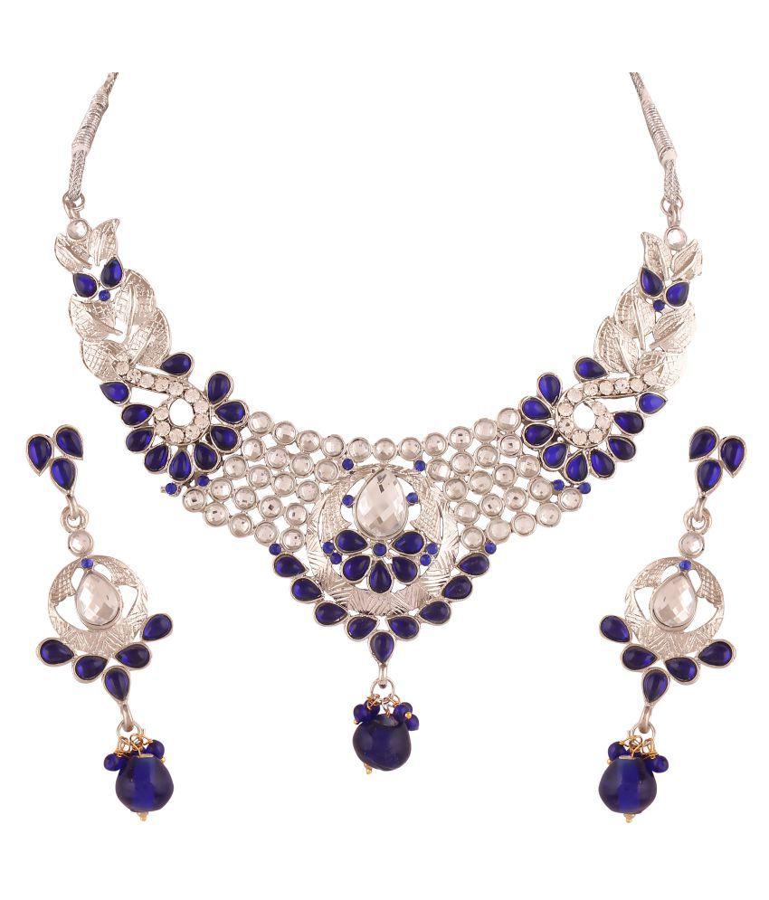 Utsavi's Adorable Earring & Necklace Set for women