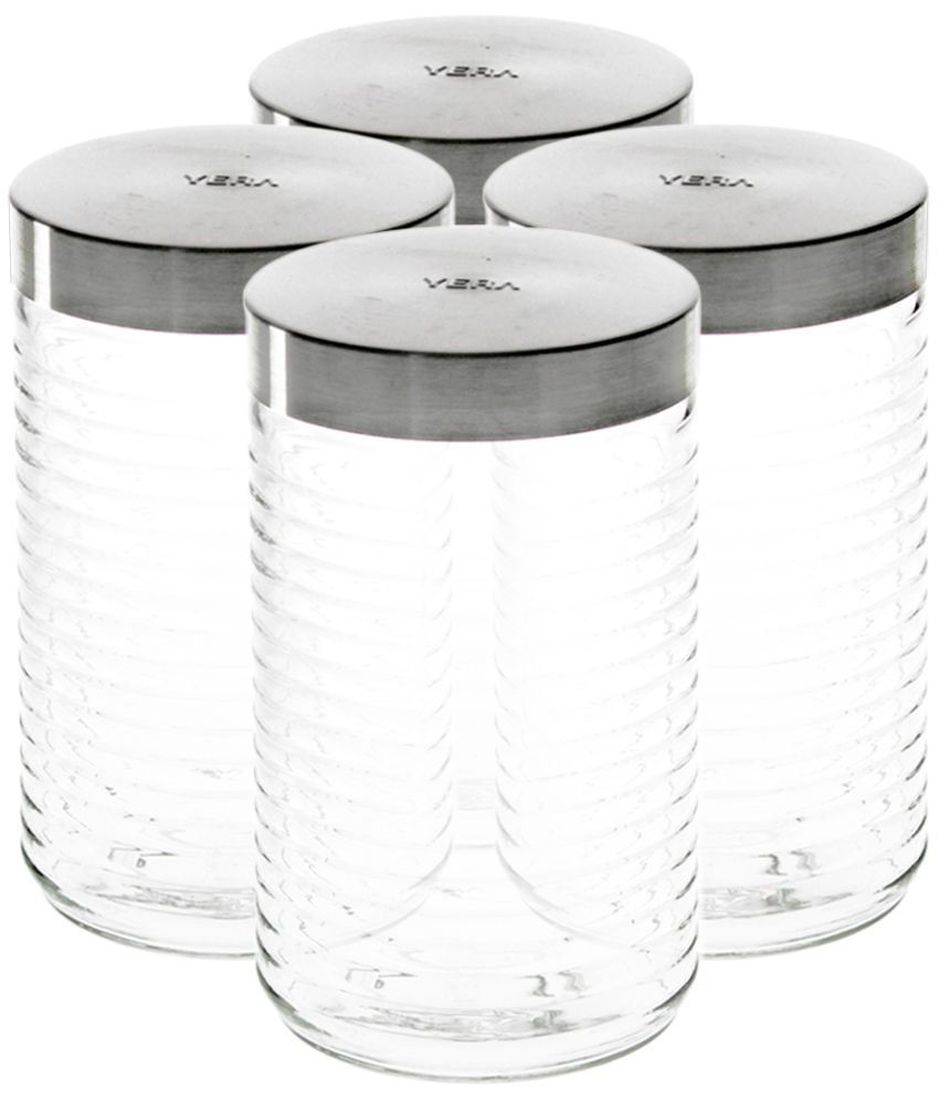 6a83979b79 Yera Glass Food Container Set of 4: Buy Online at Best Price in India -  Snapdeal