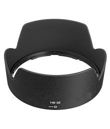Nikon HB-32 67 mm Black Lens Hood for 18-105mm, 18-135mm, 18-140mm For 67mm UV Filter