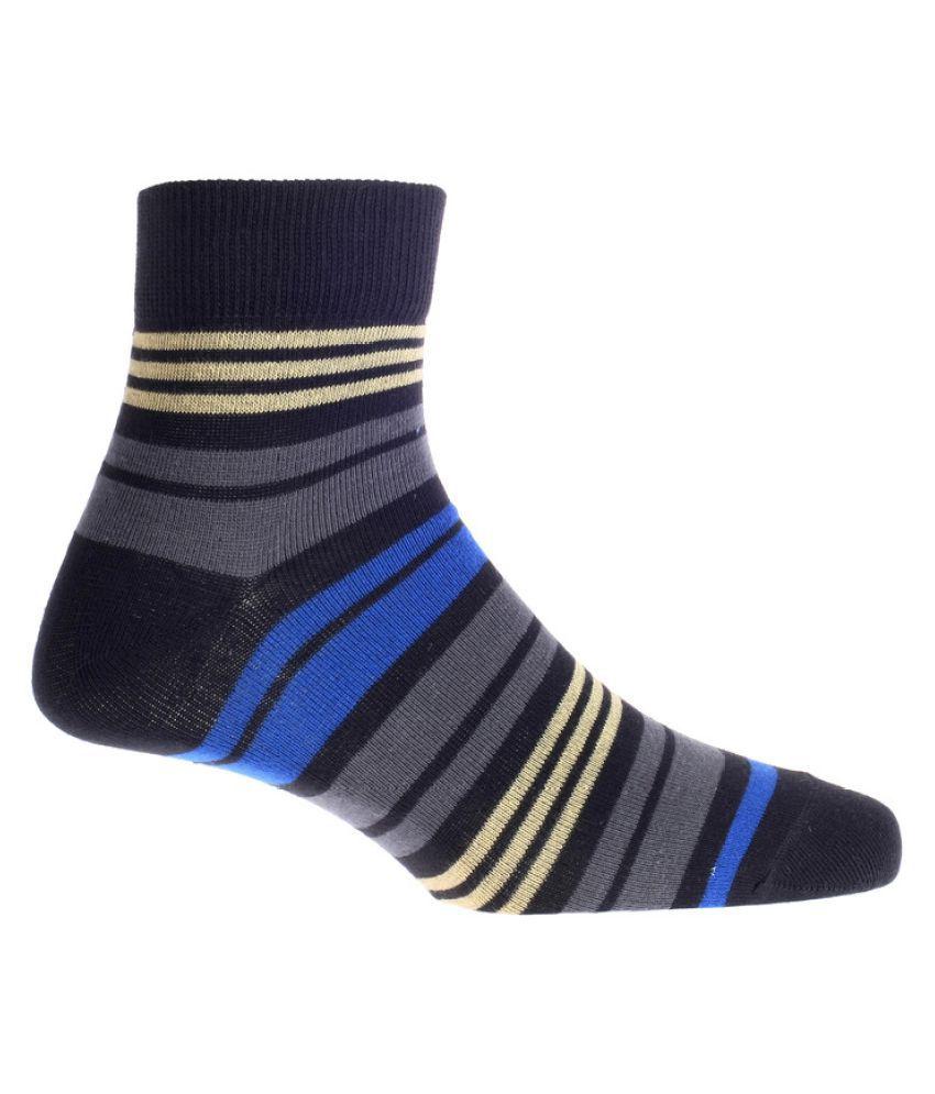 Go Miles Multi Casual Mid Length Socks