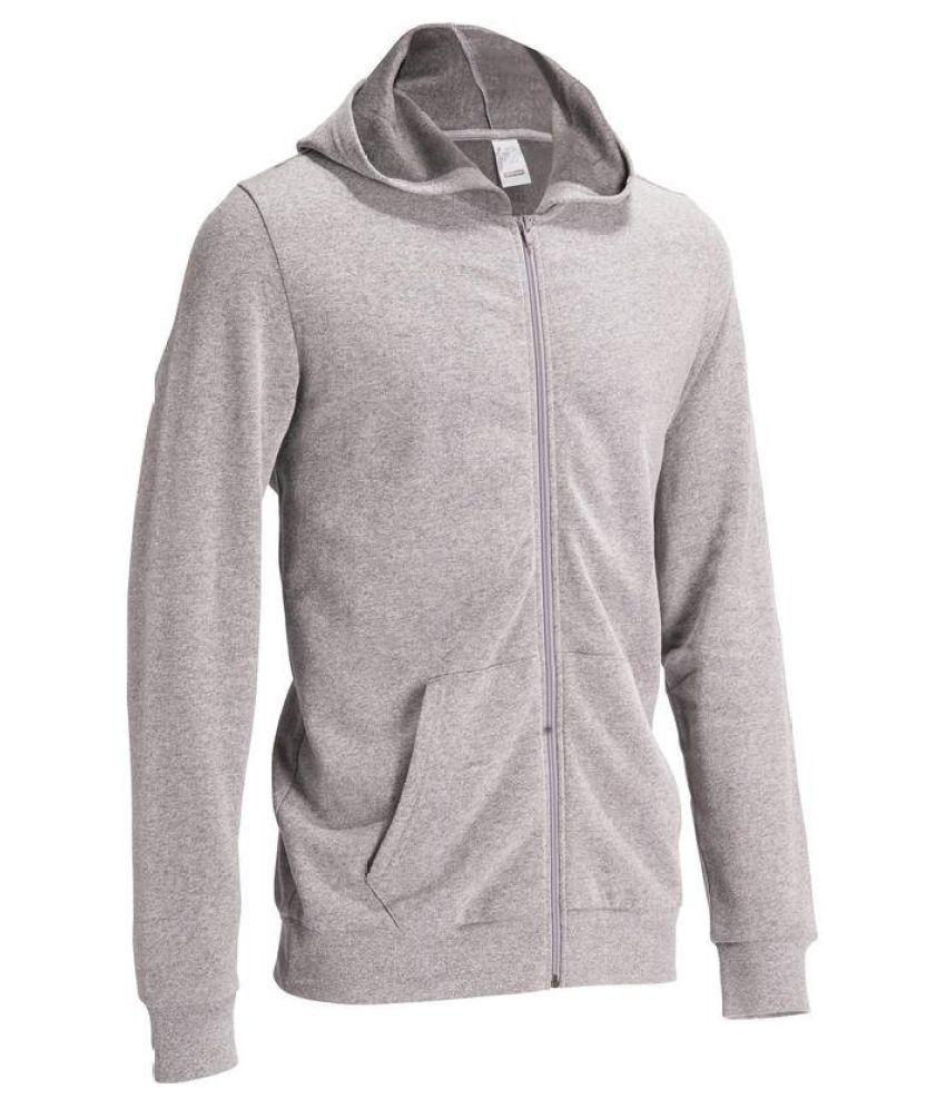 DOMYOS Hooded Gym Men's Sweatshirt