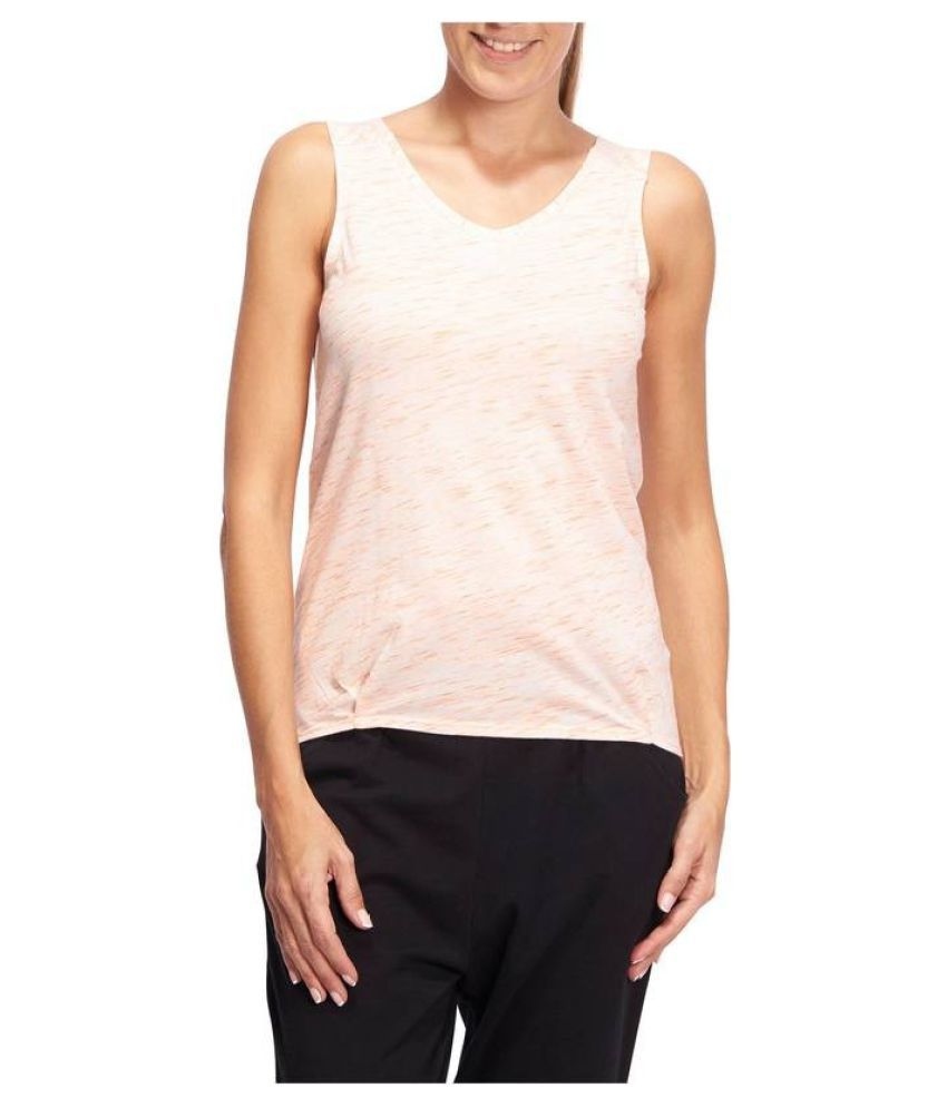 DOMYOS Women's Gym and Pilates T-Shirts