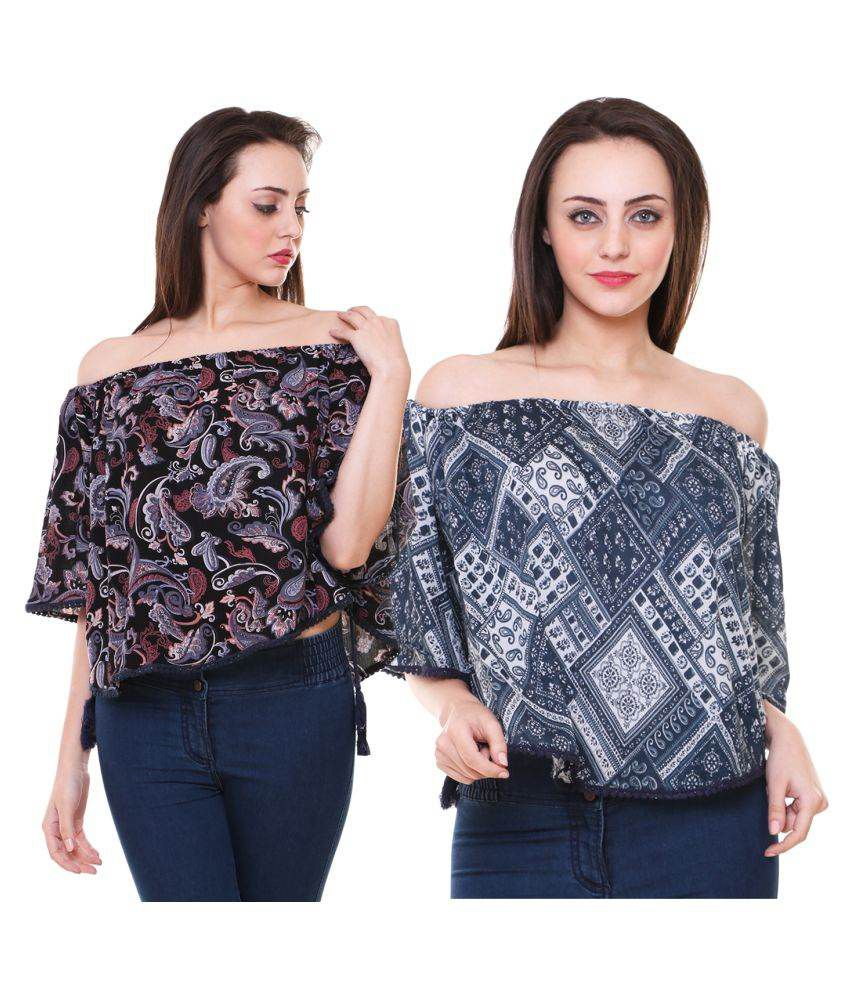 a9039cb219eab Minhaz Rayon Regular Tops - Buy Minhaz Rayon Regular Tops Online at Best  Prices in India on Snapdeal