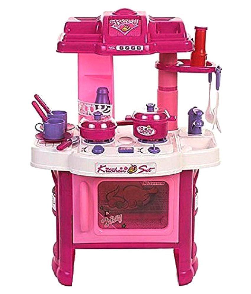 Param Playing Big Kitchen Cook Set Toy Kids Buy Param Playing Big Kitchen Cook Set Toy Kids Online At Low Price Snapdeal