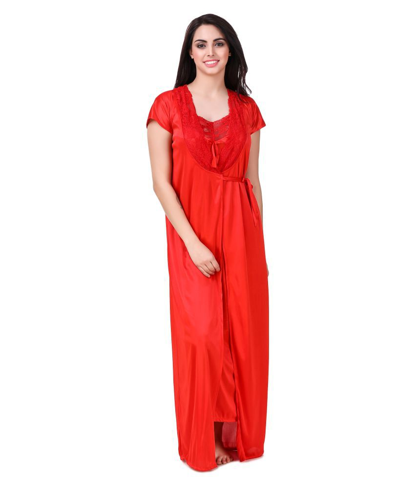 Buy Freely Satin Nighty & Night Gowns Online at Best Prices in India ...