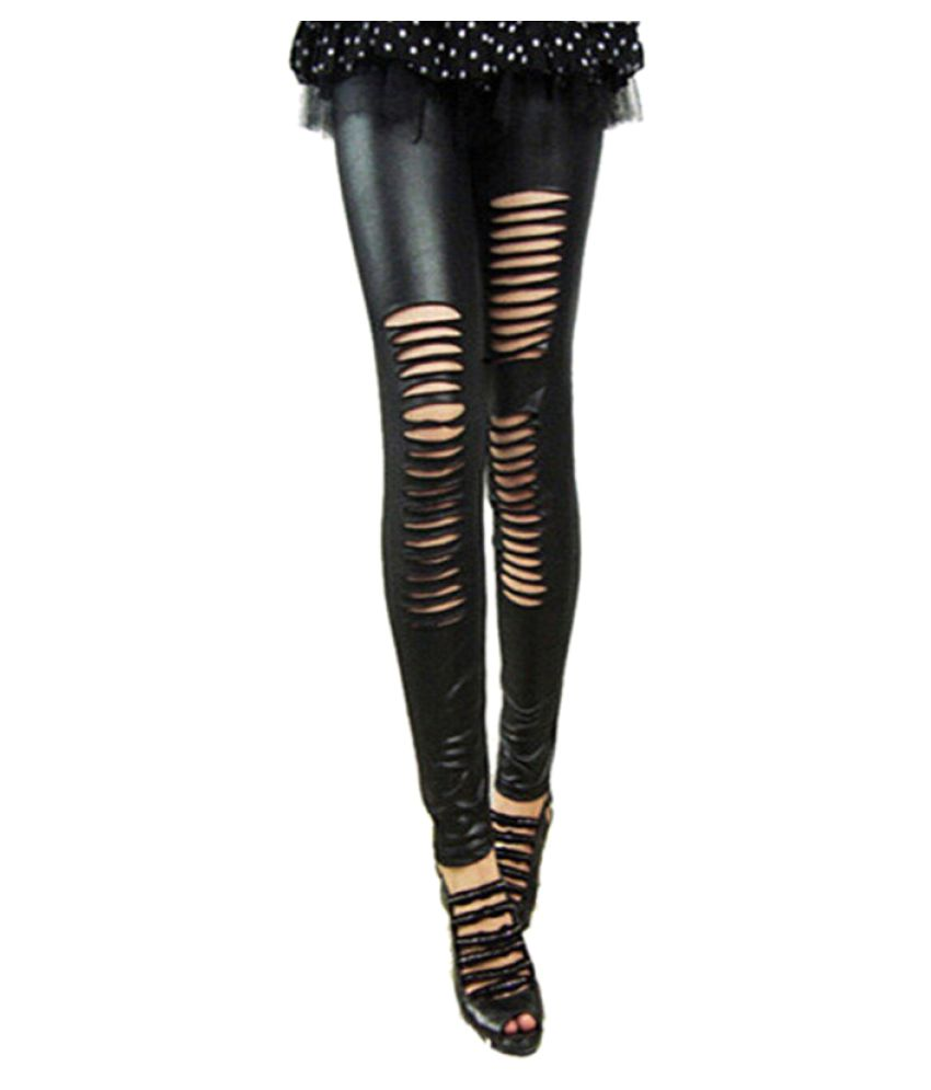 4e6876c258381 Buy Kaamastra Faux Leather Jeggings Online at Best Prices in India -  Snapdeal