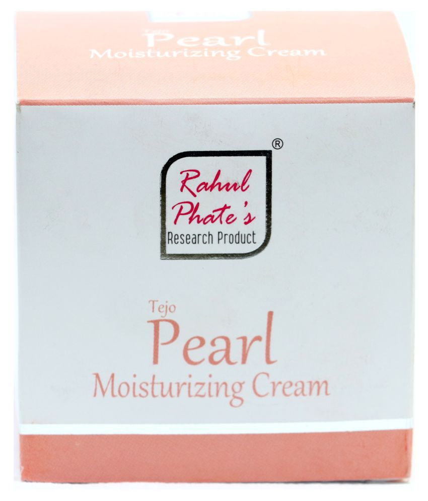 Rahul Phates Innovations Tejo-Pearl Moisturizing Cream 200g Moisturizer 200 gm