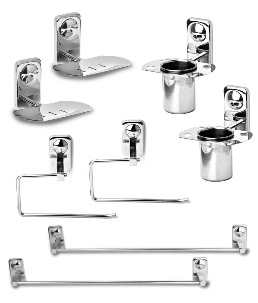 Abyss Stainless Steel Bath Set