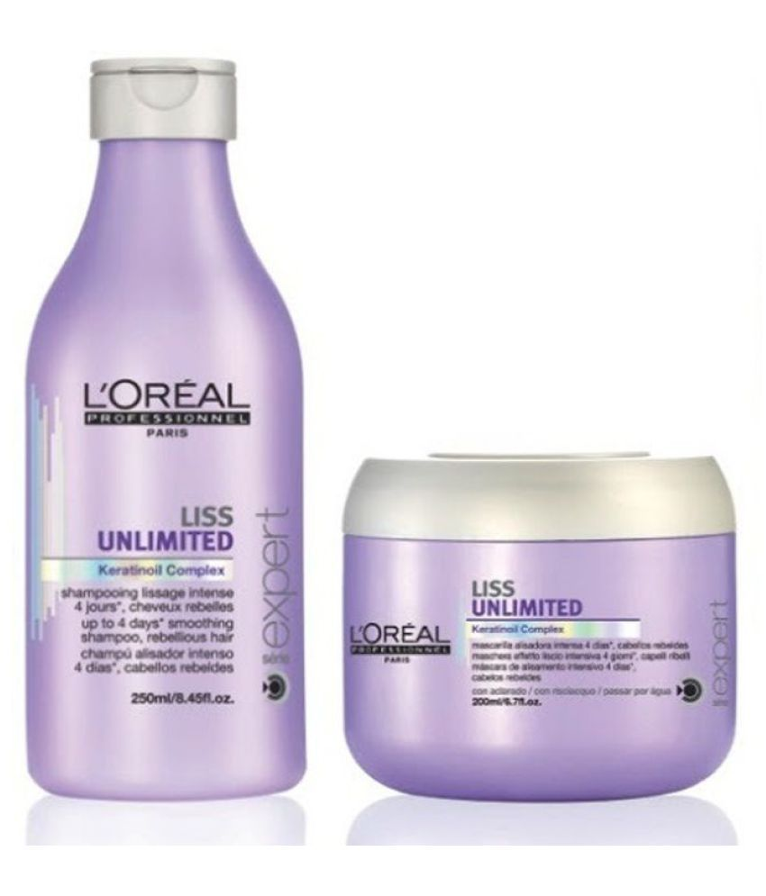 shampoo professional liss oreal loreal hair conditioner unlimited conditioners ml ultimate shampoos dry colored treated india instant installation