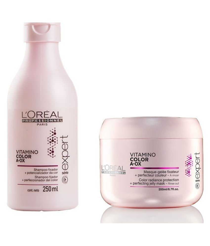 2b76a5d06 ... L'oreal Professional Vitamino Color A- Ox Shampoo + Conditioner 230 ml  Pack ...