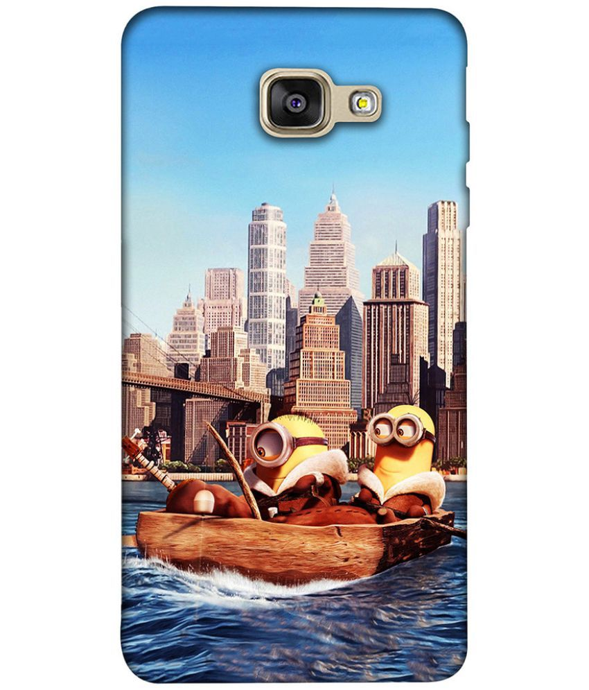 Samsung Galaxy A7 2016 Printed Cover By Clarks