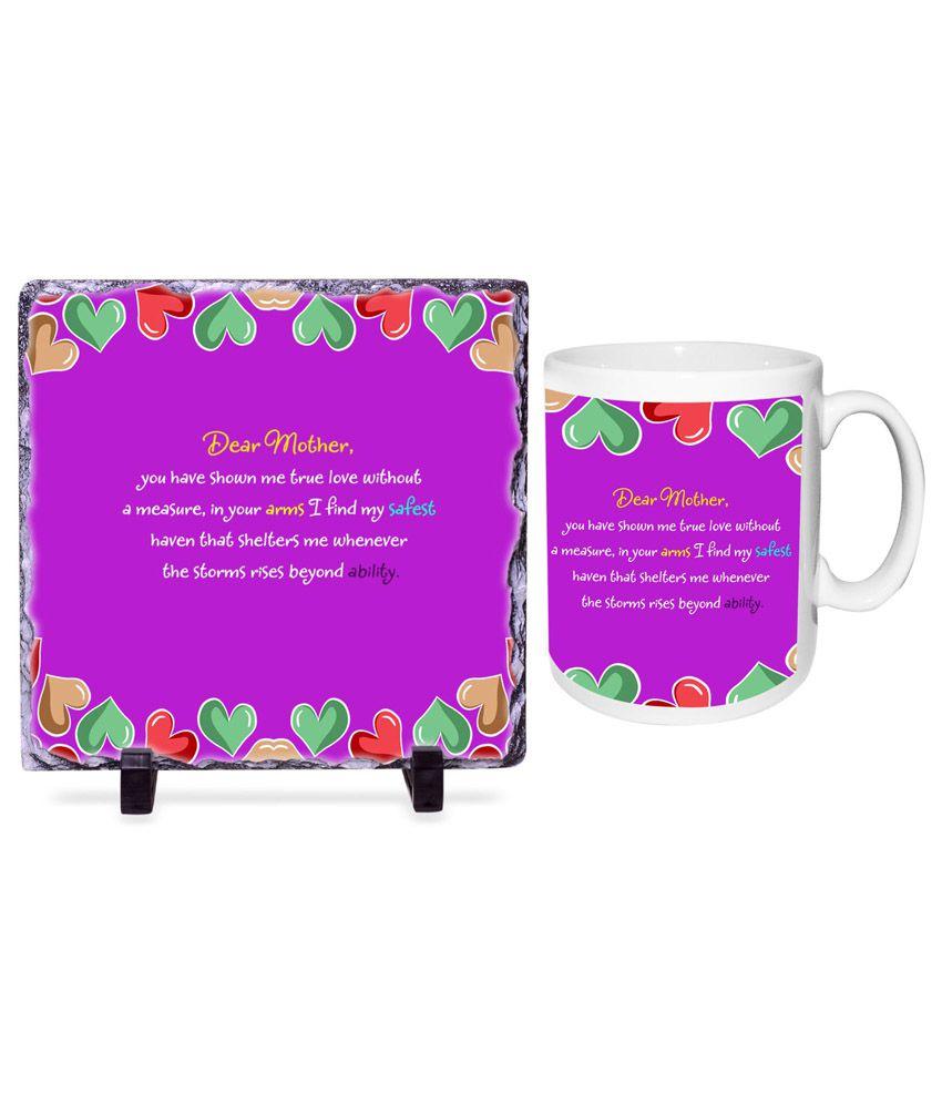 Happy Mother Day Tile Frame Hamper: Buy Online at Best Price in ...