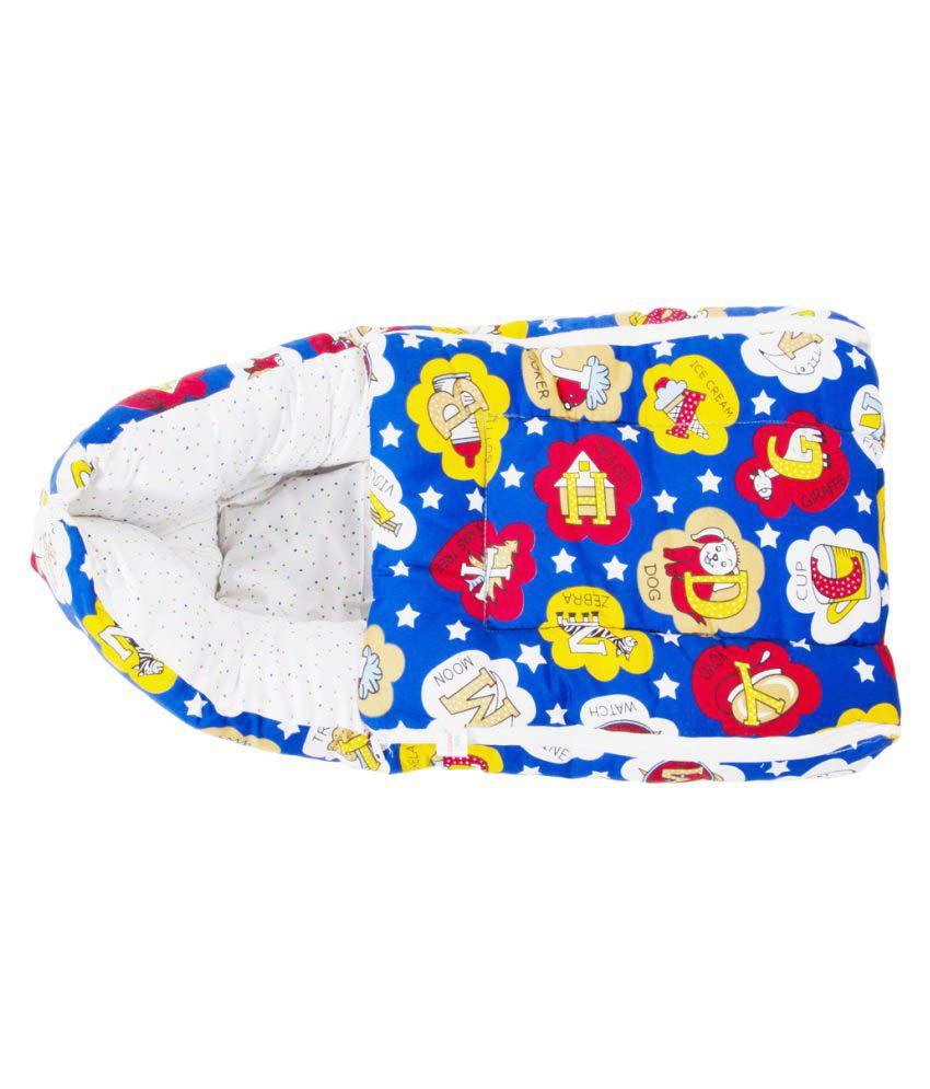 Kidzvilla Blue Cotton Sleeping Bags ( 65 cm × 35 cm)