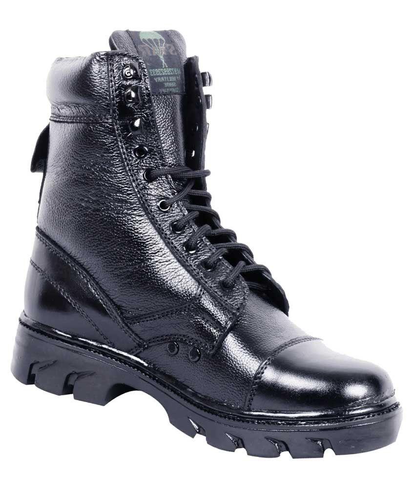 N/A Black Casual Boot