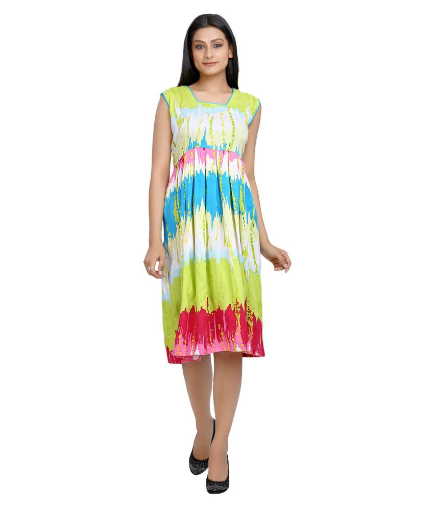 c0b8a811e46f Aavaya Fashion Cotton Dresses - Buy Aavaya Fashion Cotton Dresses Online at Best  Prices in India on Snapdeal