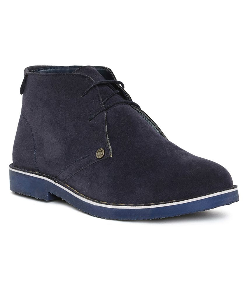 Duke Navy Chukka boot