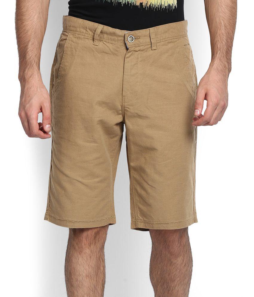 United Colors of Benetton Khaki Shorts