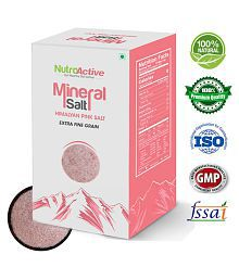 NutroActive Mineral Salt,Extra Fine Grain Himalayan Pink Salt 350 gm