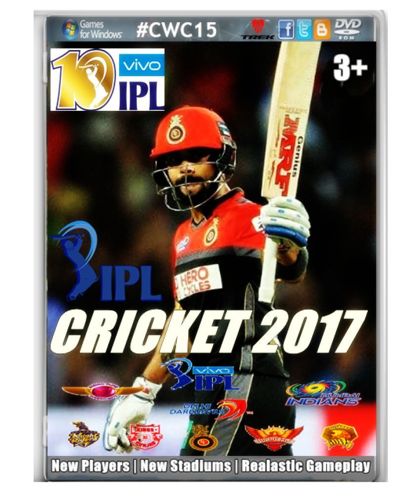 Cricket Ipl Fever 2017 ( Pc Game ) Snapdeal Rs. 410.00