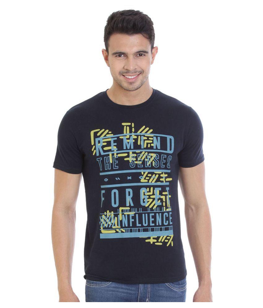 Hols Navy Round T-Shirt