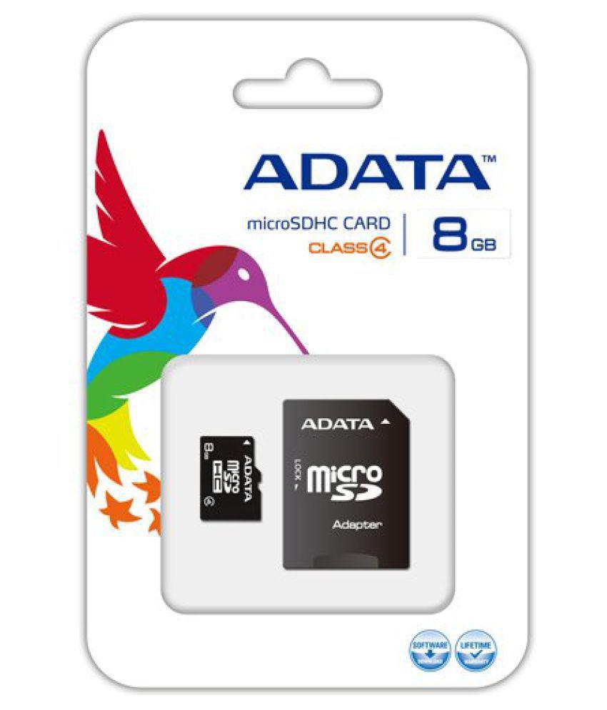 Adata 8 GB Class 4 Memory Card