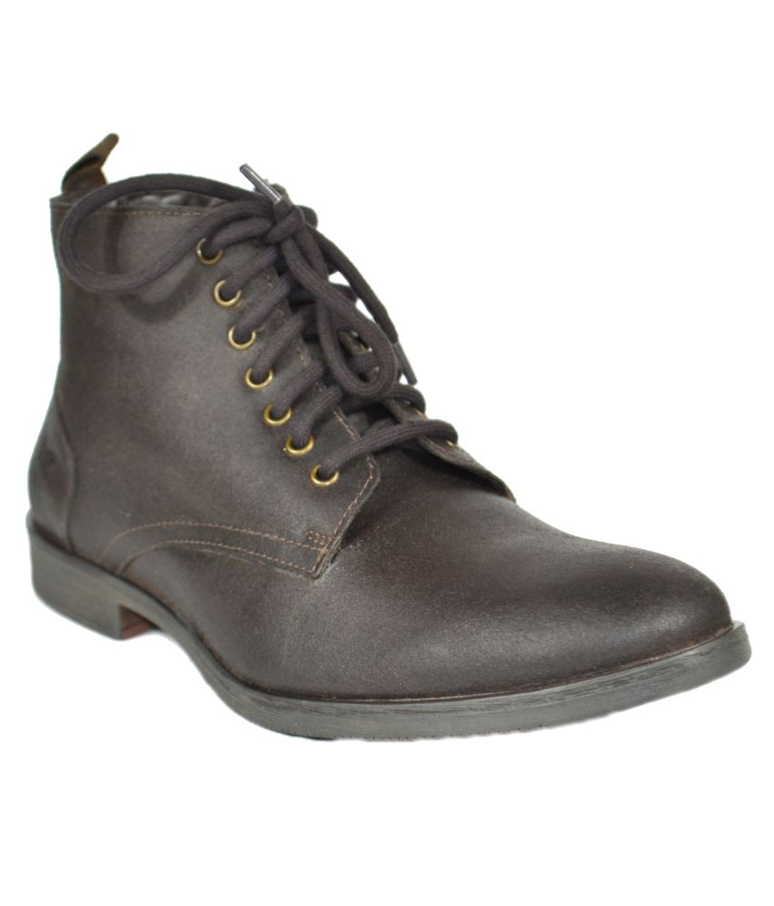 TSF Brown Formal Boot