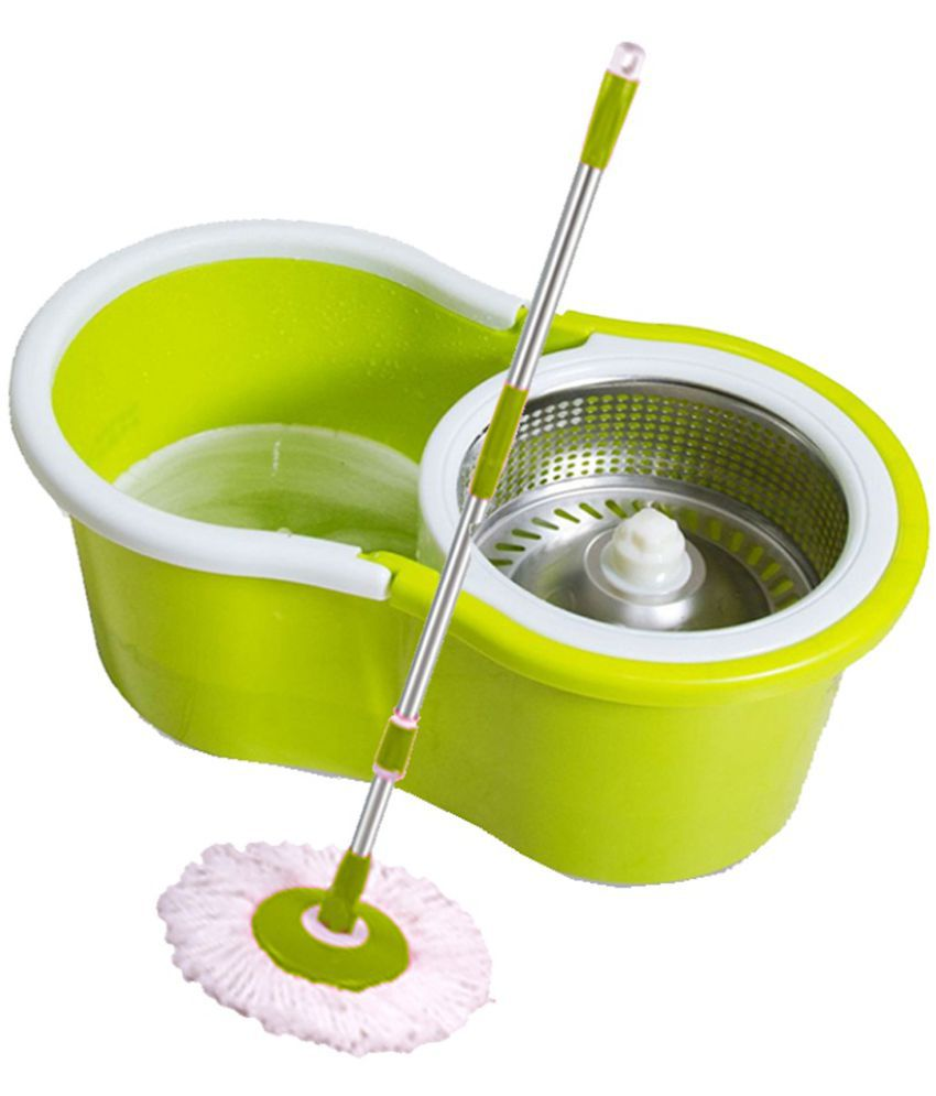 microfiber floors heavy floor cleaning basket pail duty pedal wyl ss products cleaner mop spin w cloth