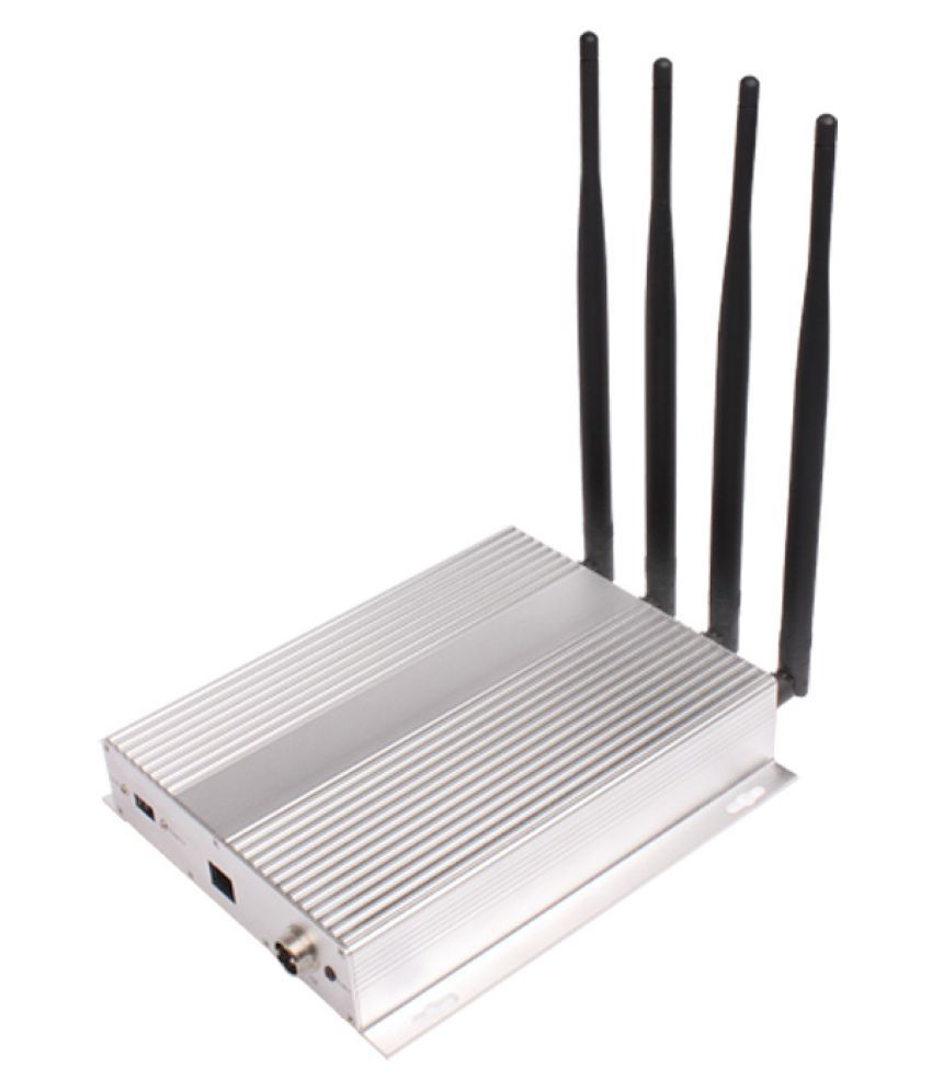 Lintratek ST-101B Mobile Cell Phone Signal Jammer 3200 RJ11 White