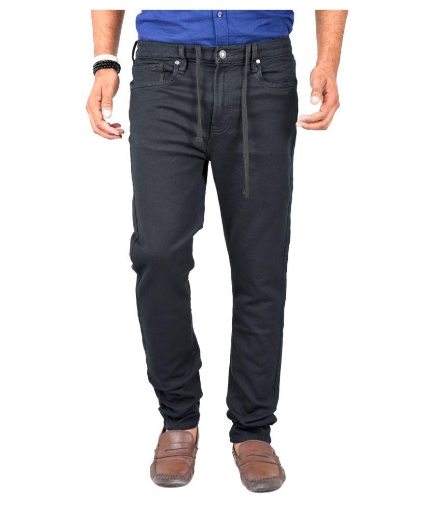 Indigen Black Slim Jeans